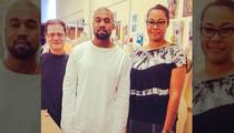 Kanye West -- Community Service at Fashion School