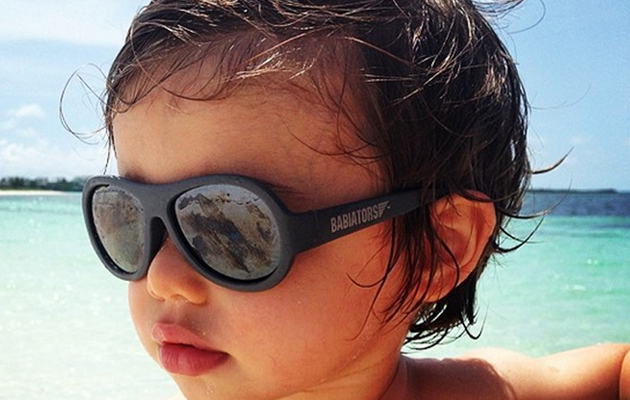 "Nick & Vanessa Lachey's Son Camden Wears ""Babiators"" -- See the Cute Pic!"