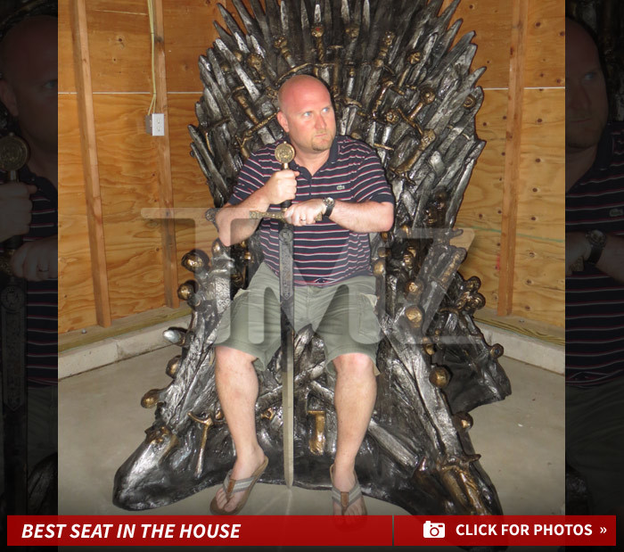Game of Thrones' Fan -- I Won A $30K Iron Throne -- And It Won't ...