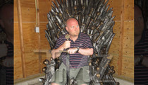 'Game of Thrones' Fan -- I Won A $30K Iron Throne -- And It Won't Fit In My NJ Apt.