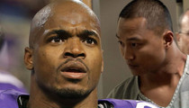 Adrian Peterson -- Man Accused of Killing Son ARRESTED for Kidnapping Child's Mom