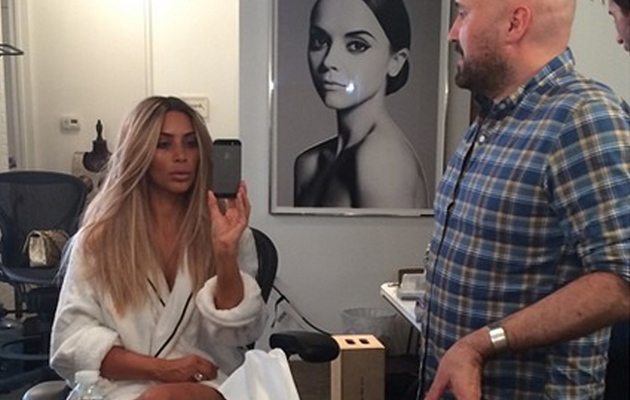 Kim Kardashian Goes Back to Blonde -- See the New Pics!