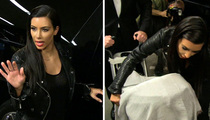Kim Kardashian -- See, I'm a Good Mom Who Flies With My Baby (VIDEO)