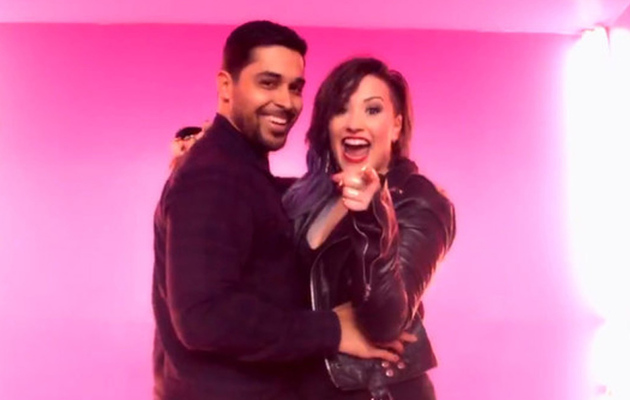 "Demi Lovato Cozies Up to Wilmer Valderrama in ""Really Don't Care"" Video -- Watch Now!"