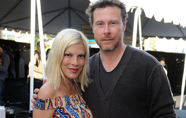 "Tori Spelling Says Marriage to Dean McDermott Is ""Getting Better"""