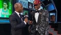 Andrew Wiggins -- Charity Auction for Draft Suit? ... 'It Could Happen'