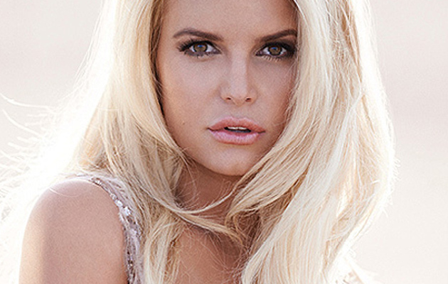 Jessica Simpson Stuns In Revealing Perfume Ad