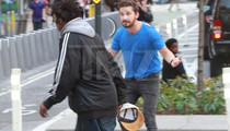 Shia LaBeouf Chased Around a Homeless Guy Hours Before Arrest