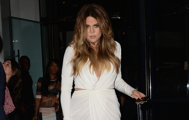 Khloe Kardashian Is White Hot at 30th Birthday Dinner!
