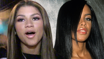 Zendaya Drops Out Of Aaliyah Movie -- Biopic's Lead Star Out After Family Protest