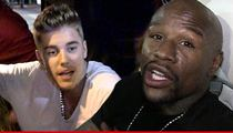 Justin Bieber Comes to Rescue After Car Crash Involving Floyd Mayweather's Kids