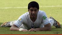 Luis Suarez -- Yes, I Did Bite That Guy ... And I'm Reallly Sorry