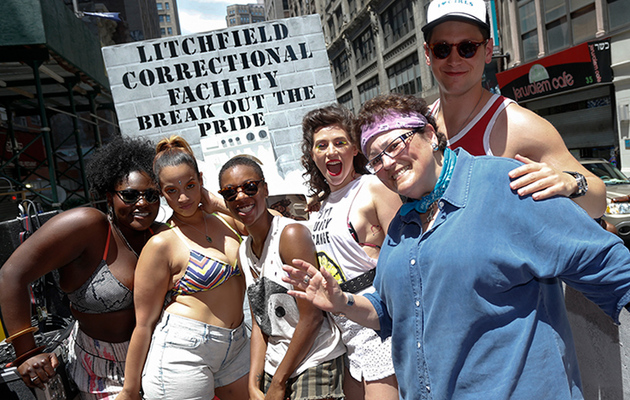 "The Cast of ""Orange Is the New Black"" Had the Best Pride Ever"
