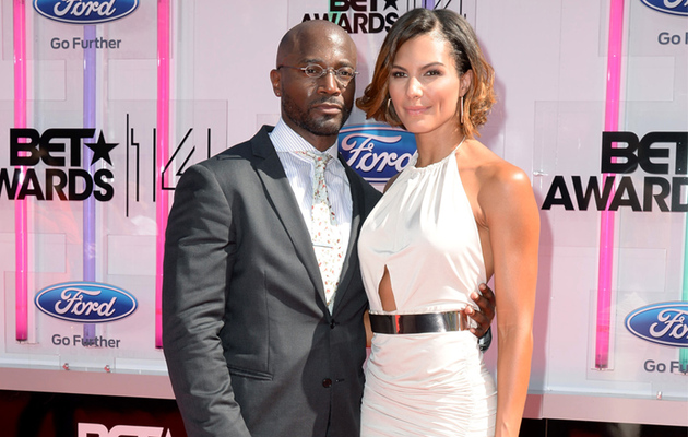 Taye Diggs Hits The Red Carpet With New Girlfriend Amanza Smith Brown