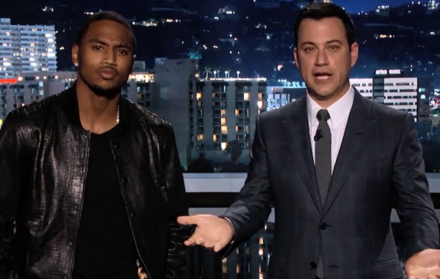 "Jimmy Kimmel & Trey Songz Hilariously Translate Lyrics To ""Na Na"""