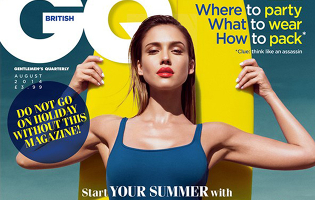 Jessica Alba Covers British GQ, Remembers Working With Paul Walker!