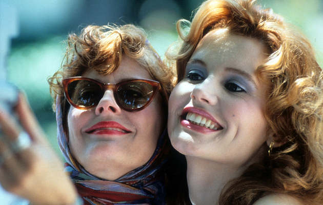 "Jimmy Kimmel and Susan Sarandon Recreate ""Thelma & Louise"" Selfie"