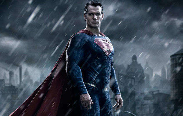 First Look: Henry Cavill as Superman in ''Batman v. Superman: Dawn Of Justice""