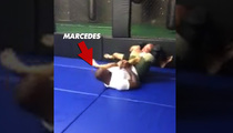 NFL star Marcedes Lewis -- MMA BEAST-IN-TRAINING ... Check Out My Arm-Bar Skills!