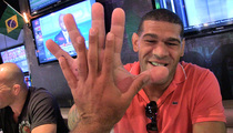 UFC's Antonio 'Bigfoot' Silva -- SIZE MATTERS ... When It Comes to My Fists