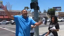 Ex-Warriors Coach Mark Jackson -- Loud Sidewalk Preaching ... I'm Coaching for God Now!