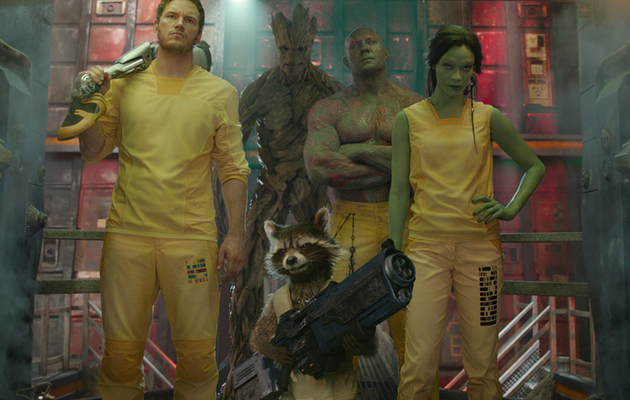 "We Saw 17 Minutes of ""Guardians of the Galaxy"" -- And It's Awesome!"