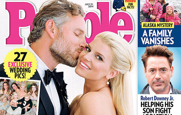 See Jessica Simpson's Wedding Dress, Ring and Groom Eric Johnson