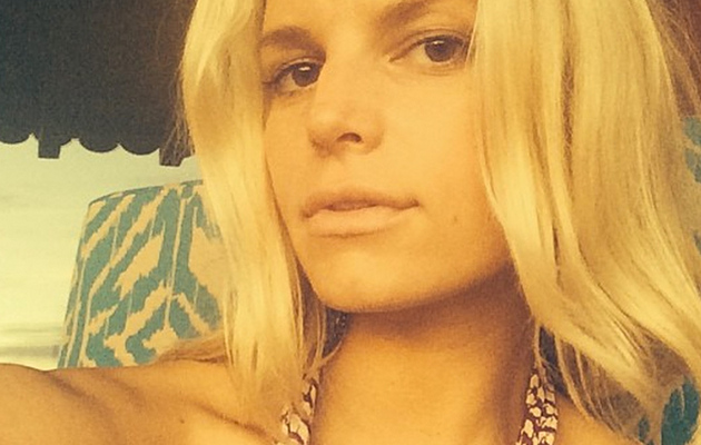 Jessica Simpson Sports Minimal Makeup, Stuns In Post-Wedding Pic