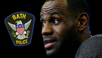 Lebron James -- Ohio Cops On High Alert ... For 'Decision' Part II