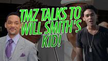 Will Smith's Son Trey Smith -- Little Willie Style ... Woo, Ha Ha!