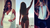 Johnny Manziel's New Lady Friend -- Bikinis, Booze and Selfies