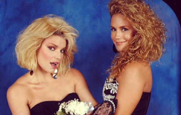 Jessica Simpson's BFF CaCee Cobb Shares Funny '80s-Inspired Photo