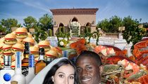Reggie Bush -- INSANE WEDDING MENU ... Drunk Food Included!