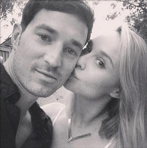 Becca Tobin and Matt Bendik Together