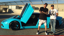Chris Brown -- My Lambo's Got the Blues ... Even Though I Rep Bloods