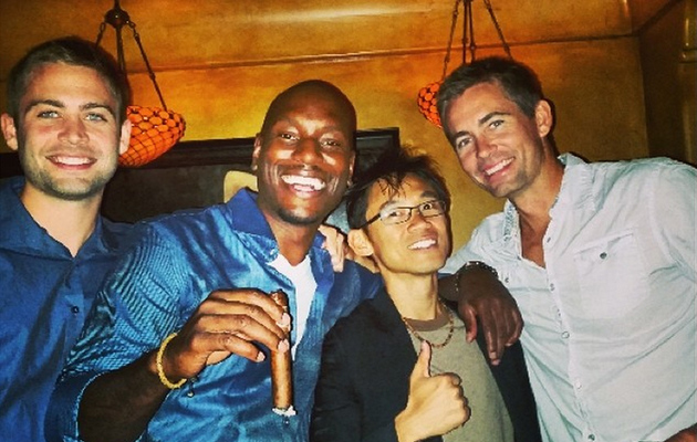 "Cody Walker & Tyrese Post Pics From ""Fast & Furious 7"" Wrap Party"