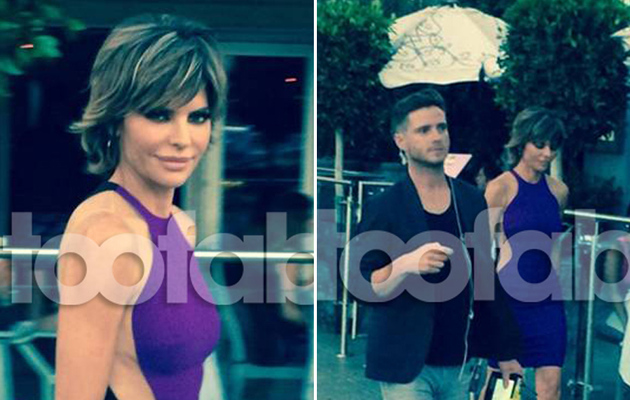 "Lisa Rinna Celebrates Birthday with ""Real Housewives"" Cast ... And Reality TV Cameras!"