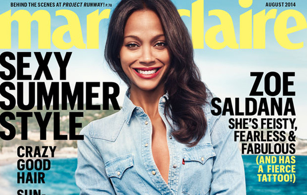 Zoe Saldana on Her Exes: I Don't Need To Be Friends With Them