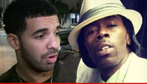 Drake -- 'Playaz Club' Beef Settled ... Pays $100K For Borrowed Rhymes