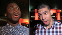 NFL Star Prince Amukamara -- I'M A TMZ PAP NOW ... And I Just Shot a Huge NBA Star!!!