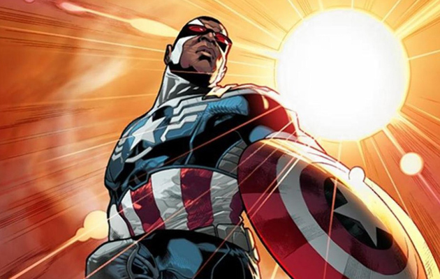 "The Falcon Is Marvel's New ""Captain America"""
