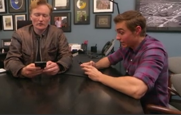 Dave Franco & Conan O'Brien Look For Ladies on Tinder!