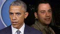 President Obama's Secret Mission ... 'Jimmy Kimmel Live'