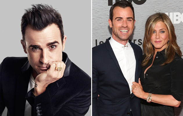 "Justin Theroux Talks About His ""Three-Headed Baby"" with Jennifer Aniston"