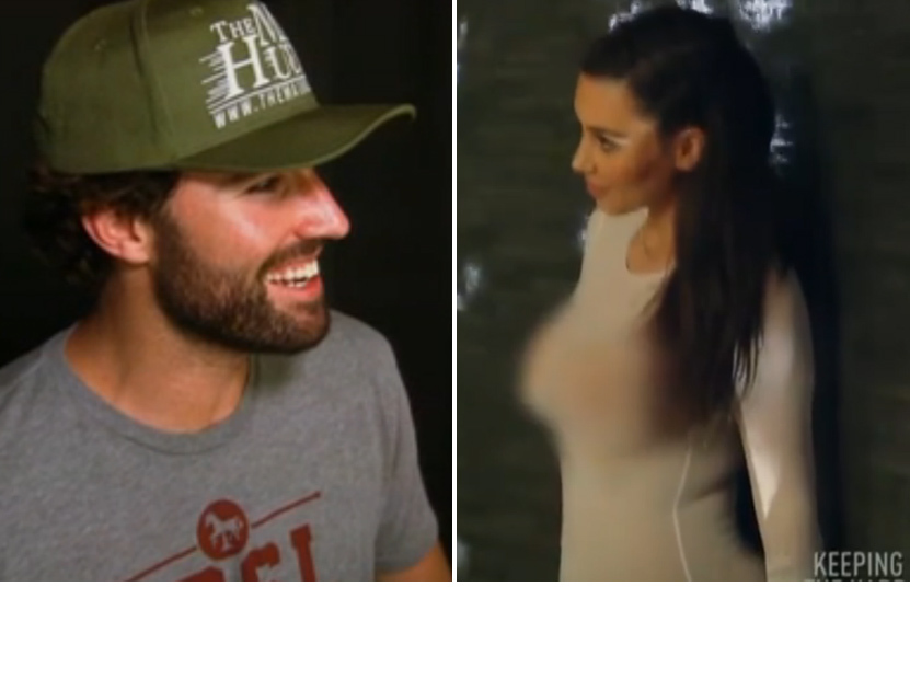 Video brody jenner sees kim kardashian nearly naked for Old keeping up with the kardashians episodes
