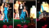 Kenya Moore BITES THE DUST ... During Vegas Ho Down (VIDEO)