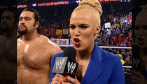 WWE's Lana -- References Malaysia Air Tragedy in Pro-Russia Skit