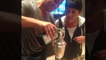 Rory McIlroy -- FILLS TROPHY WITH JAGER ... After British Open Victory