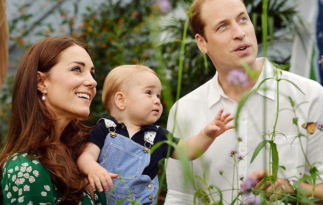 Prince George Turns One -- See New Photos of the Royal Baby!