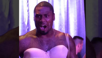 NFL Star Jacoby Jones -- Competes In Drag Show ... Loses